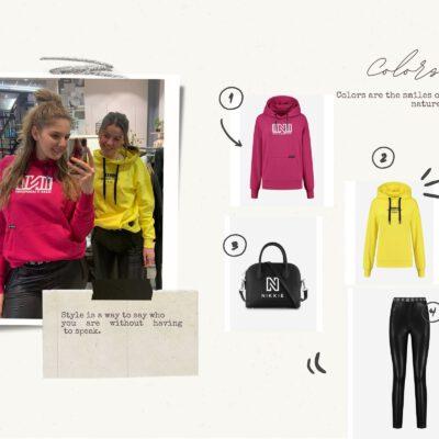 Beige DIY Collage Fashion Moodboard Photo Collage-2