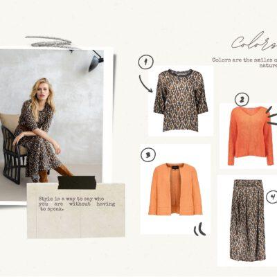 Beige DIY Collage Fashion Moodboard Photo Collage-3